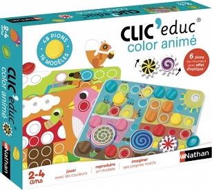 Clic'Educ – Color animé, le nouveau jeu éducatif Nathan