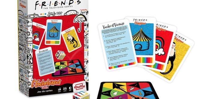 La Roue de l'Embobineur – le nouveau jeu de la série FRIENDS