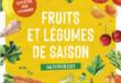 Fruits et légumes de saison – Calendrier 2021