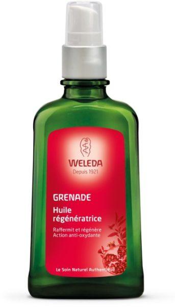 Huile régénératrice à la grenade Bio, Weleda