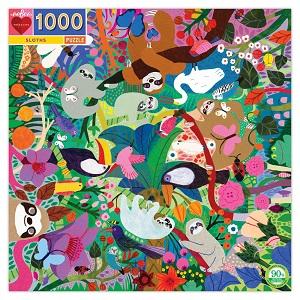 puzzle-eeBoo-Sloths-1000pieces-recyclés