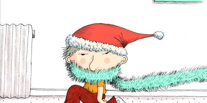 Émile fête Noël de V. Cuvellier & R. Badel, Éditions Gallimard Jeunesse