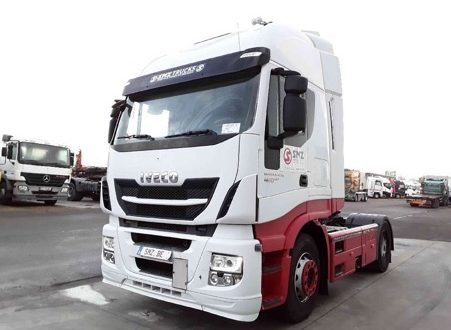 Le camion Iveco Stralis XP