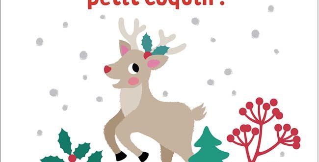 C'est Noël, petit coquin! – Un album aux Éditions Gallimard Jeunesse