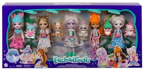 Mattel – Des univers enchanteurs avec Enchantimals, Cave club ou encore Polly Pocket