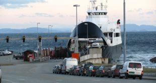 emmener sa voiture en ferry