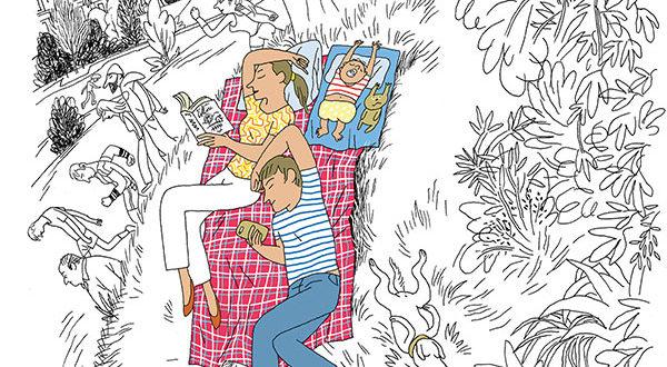 «Une époque fantastique» de Charles Berberian aux Éditions du Chêne