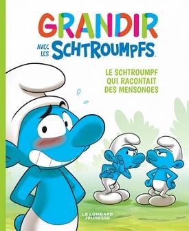 grandir-avec-les-schtroumpfs-t6-Schtroumpf-mensonges-lombard