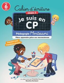 Je suis en CP – Cahier d'écriture et Cahier de calcul