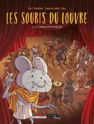 les-souris-du-louvre-t3-serment-oublié-delcourt