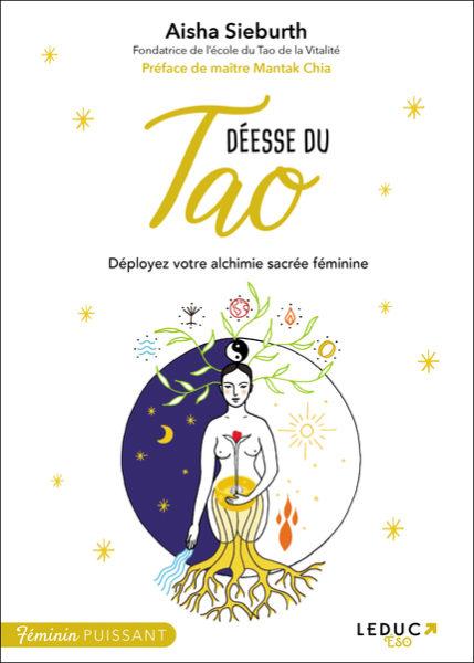 Dans Déesse du Tao, l'auteure invite les femmes à se reconnecter leur ying, à rééquilibrer leurs énergies et à se reconnecter à la vibration universelle du Chi.