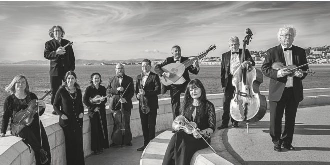 Concert en ligne de l'Ensemble Baroque de Nice vendredi 12 Mars