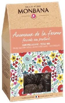 animaux-ferme-fourrés-praliné-chocolat-monbana