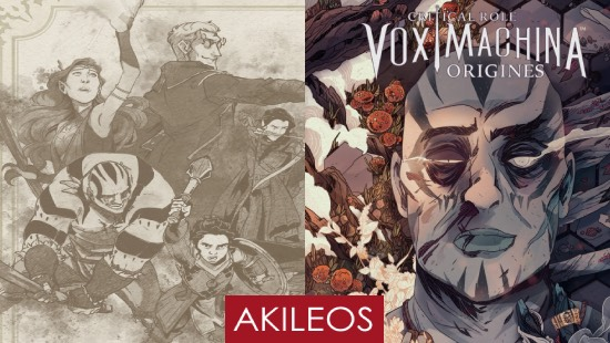 Vox Machina Origines Vol 2 – Éditions Akiléos