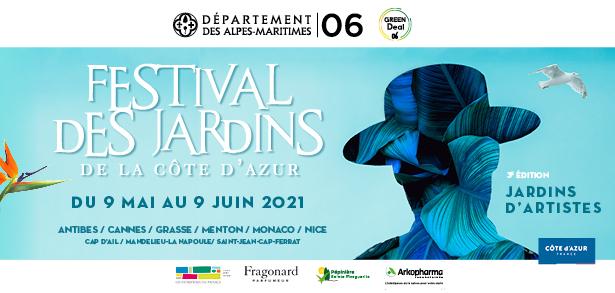 La troisième édition du Festival des Jardins de la Côte d'Azur aura lieu du 9 mai au 9 juin