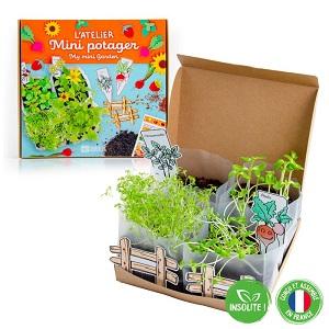 Radis et Capucine – Des coffrets et mini-jardins pour les enfants