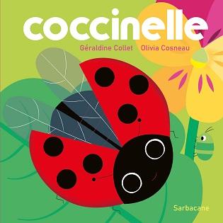 Coccinelle – Le livre à rabats des tout-petits