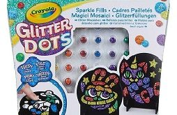 glitter-dots-cadres-pailletés-crayola