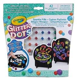 Crayola – Glitter Dots, des paillettes à étaler