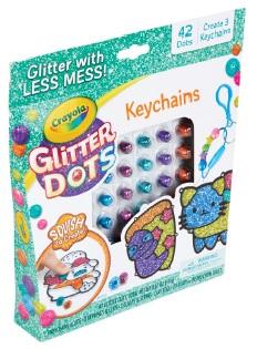 glitter-dots-porte-clés-kit-crayola