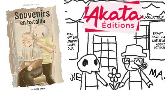 Souvenirs en Bataille – Éditions Akata
