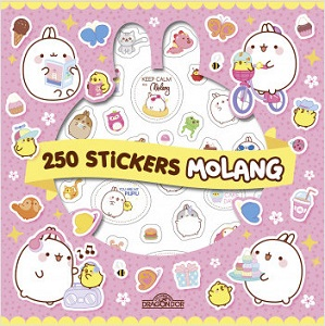 Molang – La pochette de 250 stickers