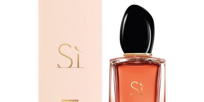Sì, la nouvelle eau de parfum intense de Giorgio Armani