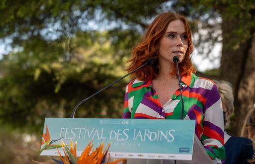 Rencontre avec Audrey Fleurot, marraine de la troisième édition du Festival des Jardins de la Côte d'Azur