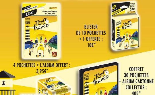 Panini Tour de France 2021 : Les régions à l'honneur !