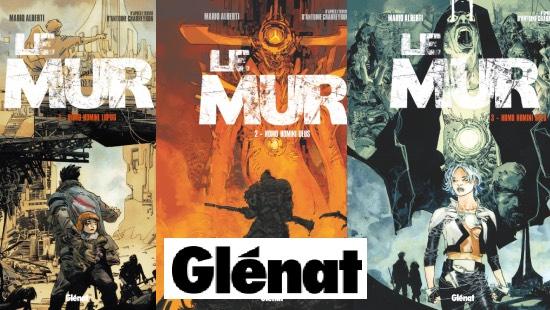 Le mur – Trilogie Post apocalyptique chez Glénat !