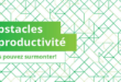 obstacles à la productivité