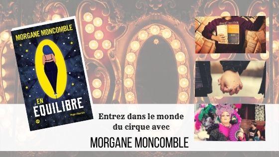 En équilibre Morgane Moncomble
