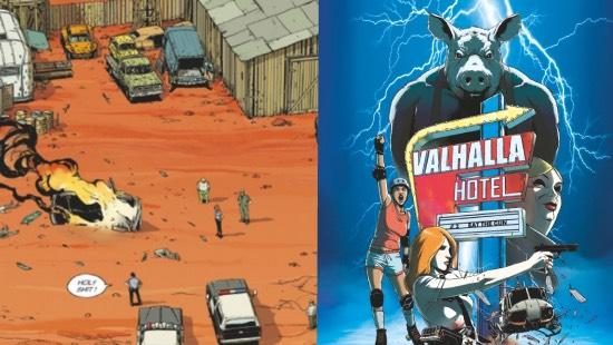 Valhalla Hotel T2– Un thriller fantastique excellent chez Éditions Glénat