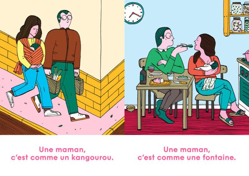 Une maman c'est comme une maison