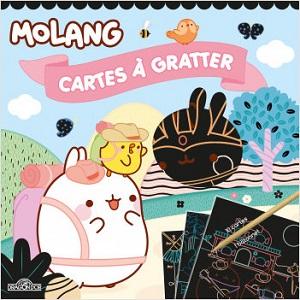 Molang – Cartes à gratter