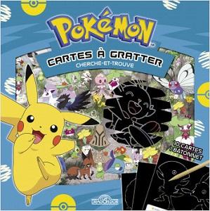 Pokémon – Cartes à gratter – Cherche et trouve à Galar
