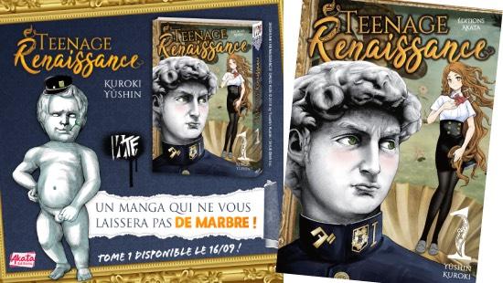 Teenage Renaissance : Un shonen artistiquement hilarant !!!