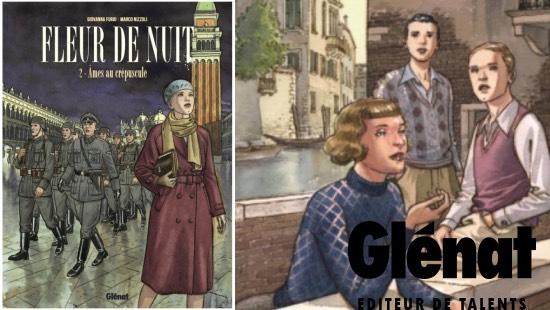 Fleur de Nuit Tome 2 : Âmes au crépuscule – Éditions Glénat
