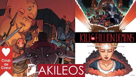 Kill 6 Billion Demons – Livre 1- Le phénomène des Éditions Akiléos