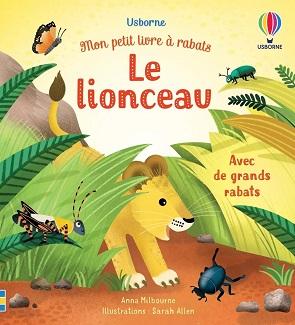 Mon petit livre à rabats – Le lionceau